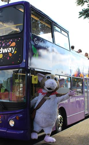 Explore Medway Open Top Bus